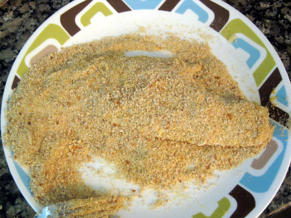 fried fish recipe bread crumbs