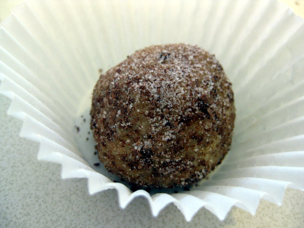 Rum Balls (Rumové Guľky) recipe - Slovak Cooking