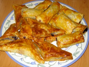 Slovak jam turnovers