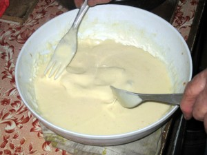 dip in batter