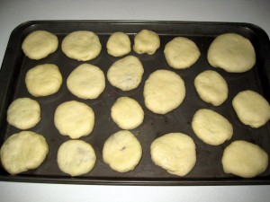 kapustniky before baking