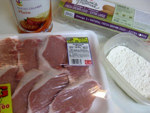 ingredients for wiener schnitzel
