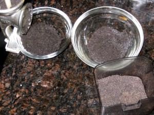 ground poppy seeds