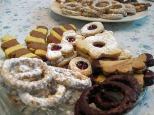 Slovak and Czech Christmas cookies