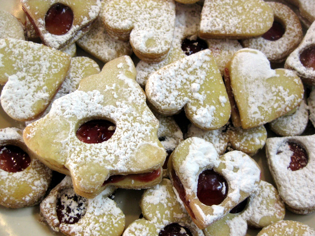 Christmas Cookies Part 1 Hearts Srdiecka Recipe Slovak Cooking
