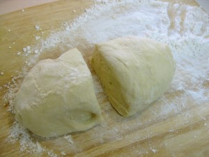dough for making fried donuts