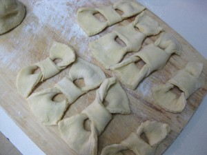 dough bow ties