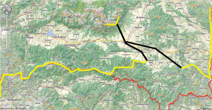 trail for backpacking in slovakia