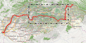 Route of Heroes SNP magistrala Slovak appalachian trail