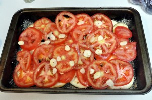 layers for baked eggplant