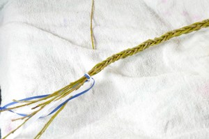 slovak easter whip with bow