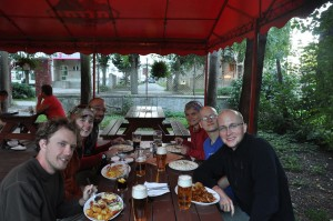 dinner at restaurant orol in poprad