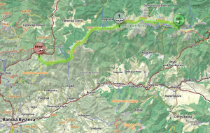 through hike low tatras map part 1