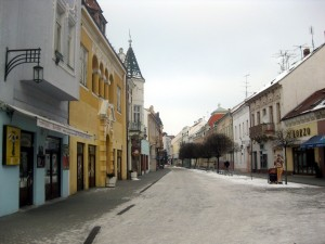 piestany in winter