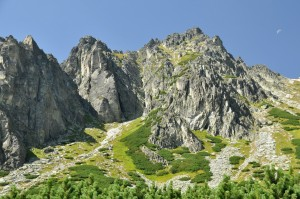 solisko peak in high tatras