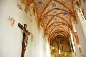 inside the red monastery slovakia