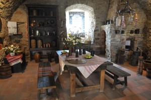 medieval time kitchen