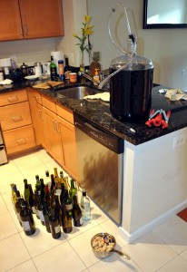 ready for wine bottling
